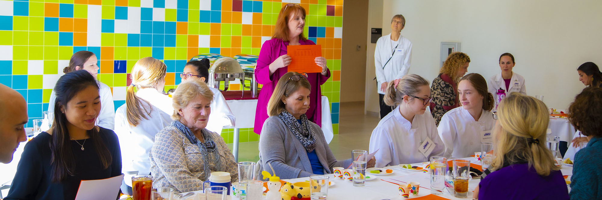 PHOTO: Dietetics and occupational therapy collaborate on modified textures food lab